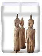 Buddha Figurine  Duvet Cover
