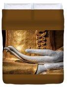 Buddha Hand Duvet Cover