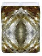 Cafe Au Lait Kaleidoscope Duvet Cover