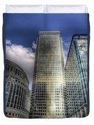 Canary Wharf Tower London Duvet Cover
