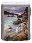 Chanteiro Beach Galicia Spain Duvet Cover