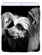 Chinese Crested Hairless Duvet Cover
