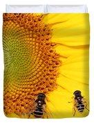 Chipmunk's Peredovik Sunflower Duvet Cover