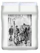 Cholera: Hamburg, 1892 Duvet Cover