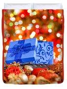 Christmas Box Duvet Cover