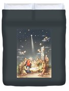 Christmas Card Duvet Cover by French School