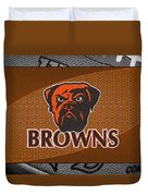 Cleveland Browns Duvet Cover