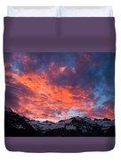 Cordon Granito Expedition, Chilean Duvet Cover