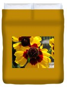 Coreopsis Or Golden Tickseed Duvet Cover