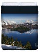 Crater Lake - Oregon Duvet Cover