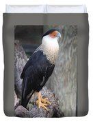 Crested Carara Duvet Cover