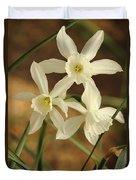 3 Daffodils Duvet Cover