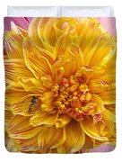 Dahlia Named Lambada Duvet Cover