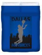 Dallas Mavericks Duvet Cover