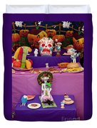 Day Of The Dead Remembrance, Mexico Duvet Cover