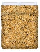 Decorative End Paper Duvet Cover