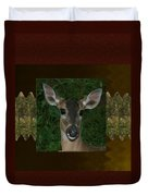 Deer Wild Animal Portrait For Wild Life Fan From Navinjoshi Costa Rica Collection Duvet Cover