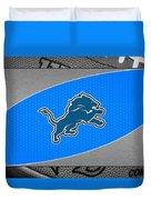 Detroit Lions Duvet Cover