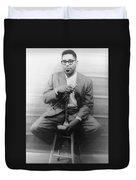 Dizzy Gillespie (1917-1993) Duvet Cover