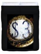 3 Dollars Duvet Cover