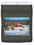 Down In The Valley  Duvet Cover