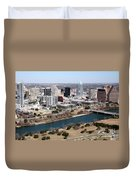 Downtown Austin Duvet Cover