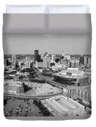 Downtown Skyline Of St. Paul Minnesota Duvet Cover