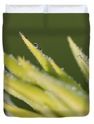 Dwarf Canna Lily Named Ermine Duvet Cover