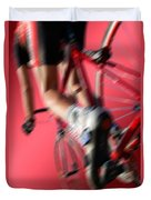 Dynamic Racing Cycle Duvet Cover