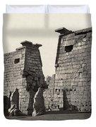 Egypt Luxor Temple Duvet Cover