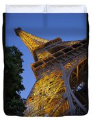 Eiffel Twilight Duvet Cover