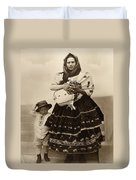 Ellis Island Women, C1910 Duvet Cover