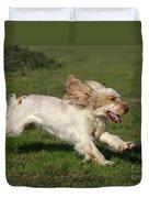 English Cocker Spaniel Duvet Cover