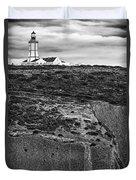 Espichel Cape Lighthouse Duvet Cover