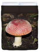 Fairy Mushrooms Duvet Cover
