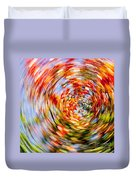 Fall Abstract Duvet Cover