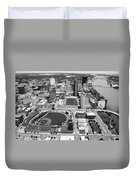 Fifth Third Field Toledo Ohio Duvet Cover