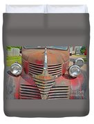Fire Truck Duvet Cover