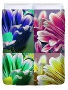 Firmenish Bicolor Pop Art Shades Duvet Cover