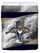 Florida Panthers Duvet Cover
