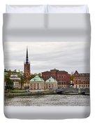 Gamla Stan. Stockholm 2014 Duvet Cover