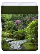 Garden Path Duvet Cover by Brian Jannsen