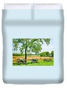 Gettysburg Battleground Duvet Cover