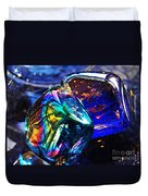 Glass Abstract 682 Duvet Cover