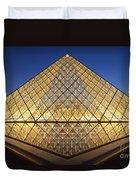 Glass Pyramid Duvet Cover