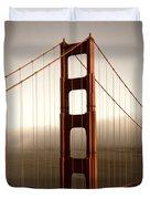 Lovely Golden Gate Bridge Duvet Cover