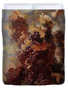 Grapes And Architecture Duvet Cover