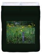 Green Acres Duvet Cover