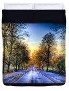 Greenwich Park London Duvet Cover