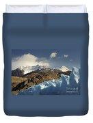 Grey Glacier In Chilean National Park Duvet Cover